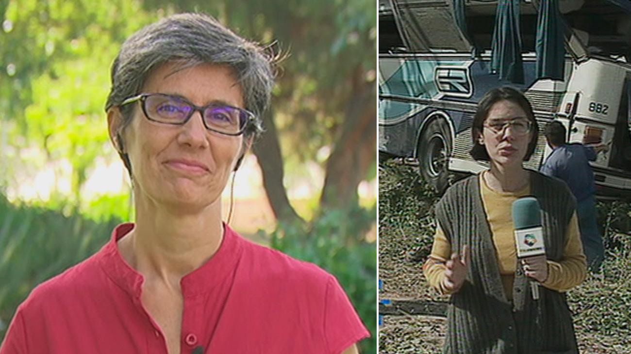 Luz Aldama, primera reportera de Madrid Directo y mítica directora