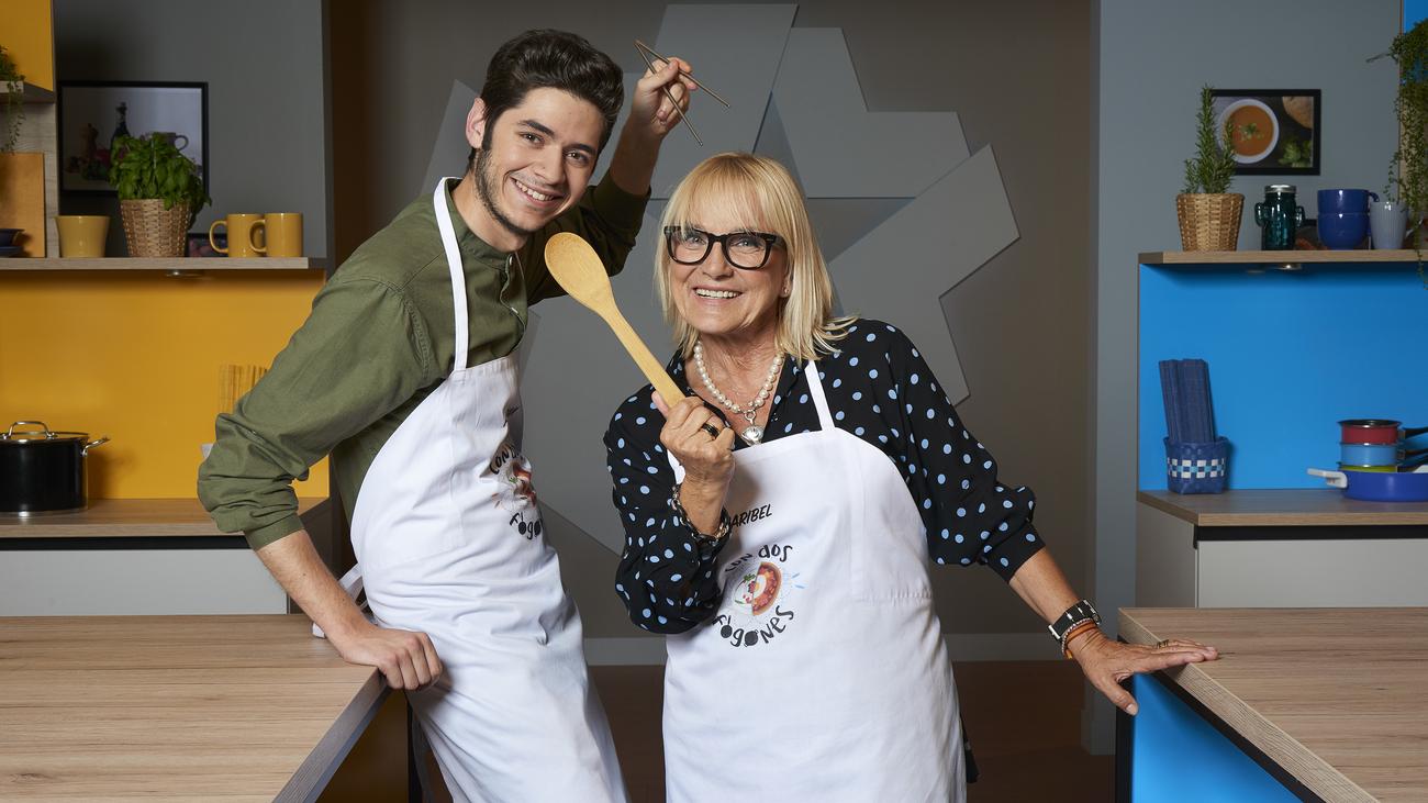 Maribel Gil y Fabián León,  duelo culinario 'Con dos fogones'