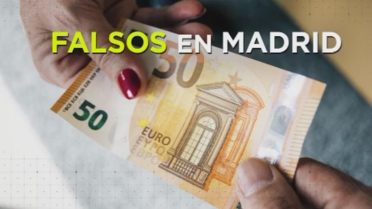 Madrid, la ciudad donde más billetes falsos se detectan