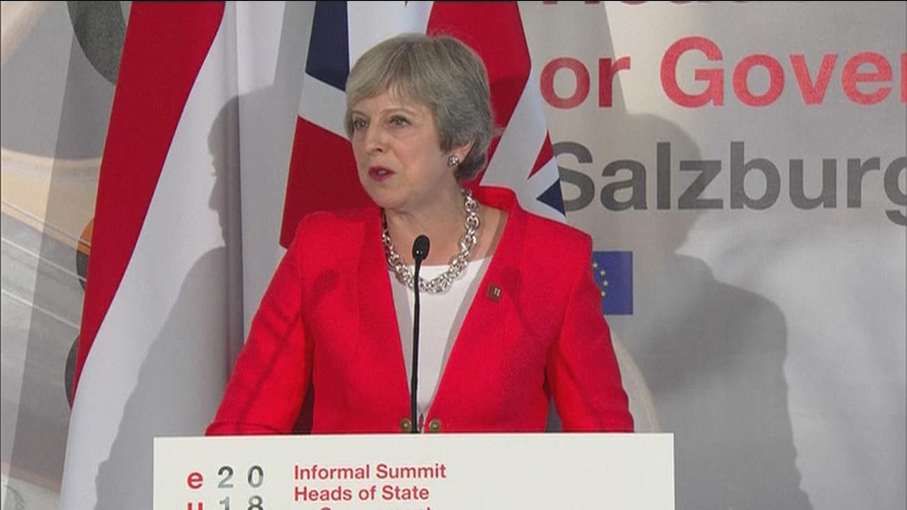 Ultimátum de la Unión Europea a Teresa May  para presentar un nuevo plan para el Brexit