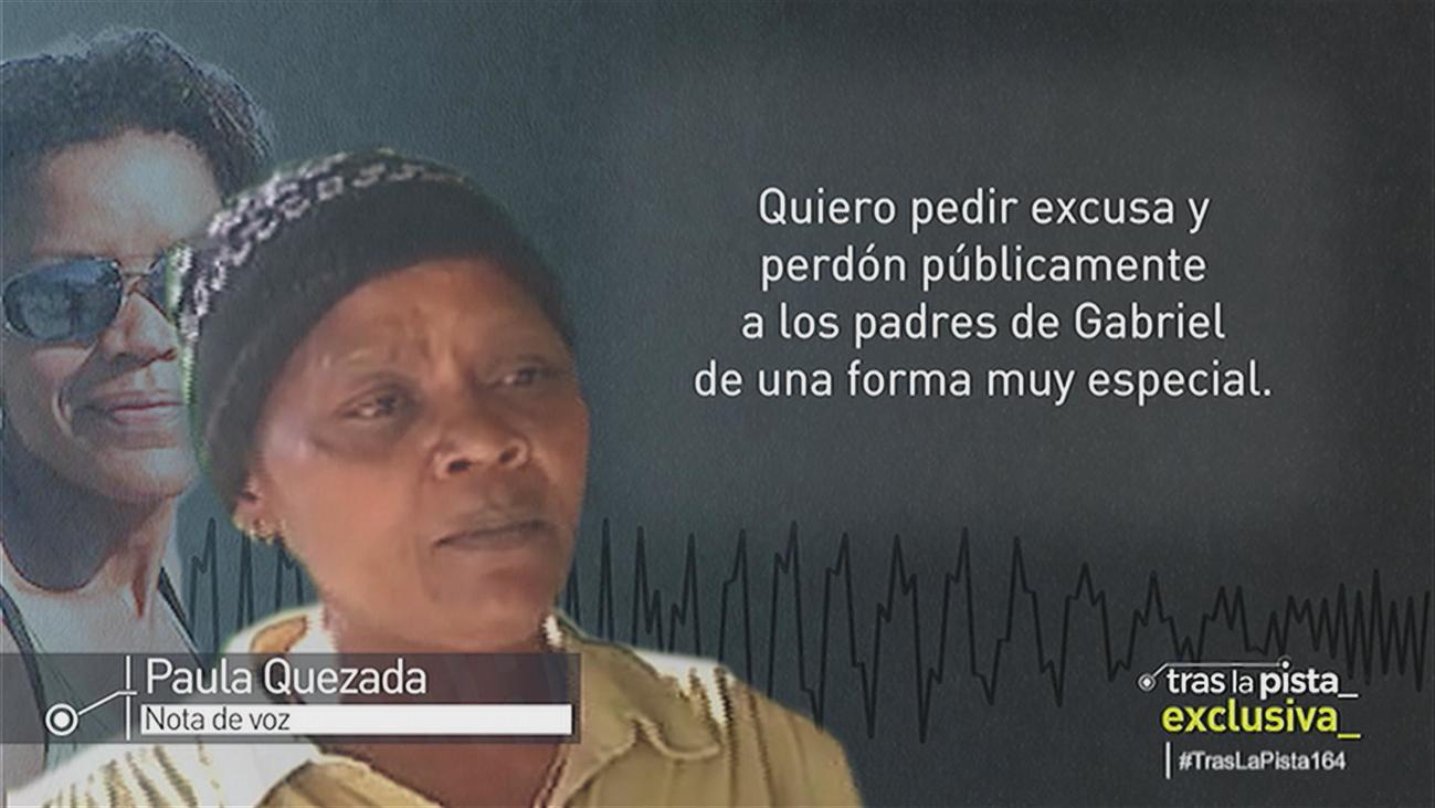 La hermana de Ana Julia Quezada pide perdón a los padres de Gabriel