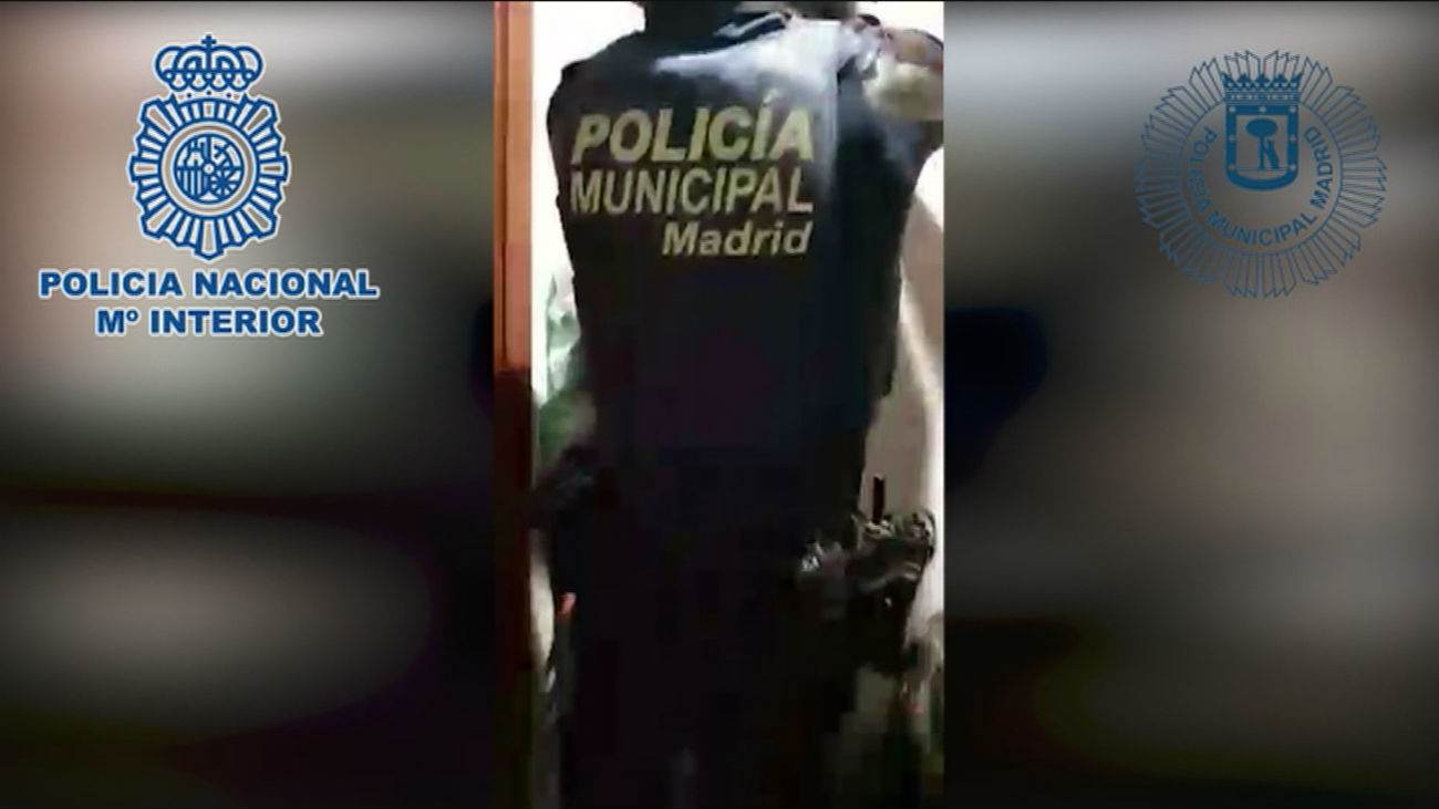 Siete detenidos en Valdebernardo por el robo de mercancías de un camión