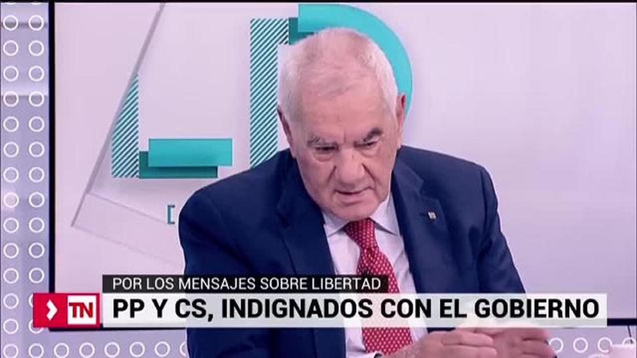 La oposición critica a Sánchez por su falta de firmeza ante los separatistas