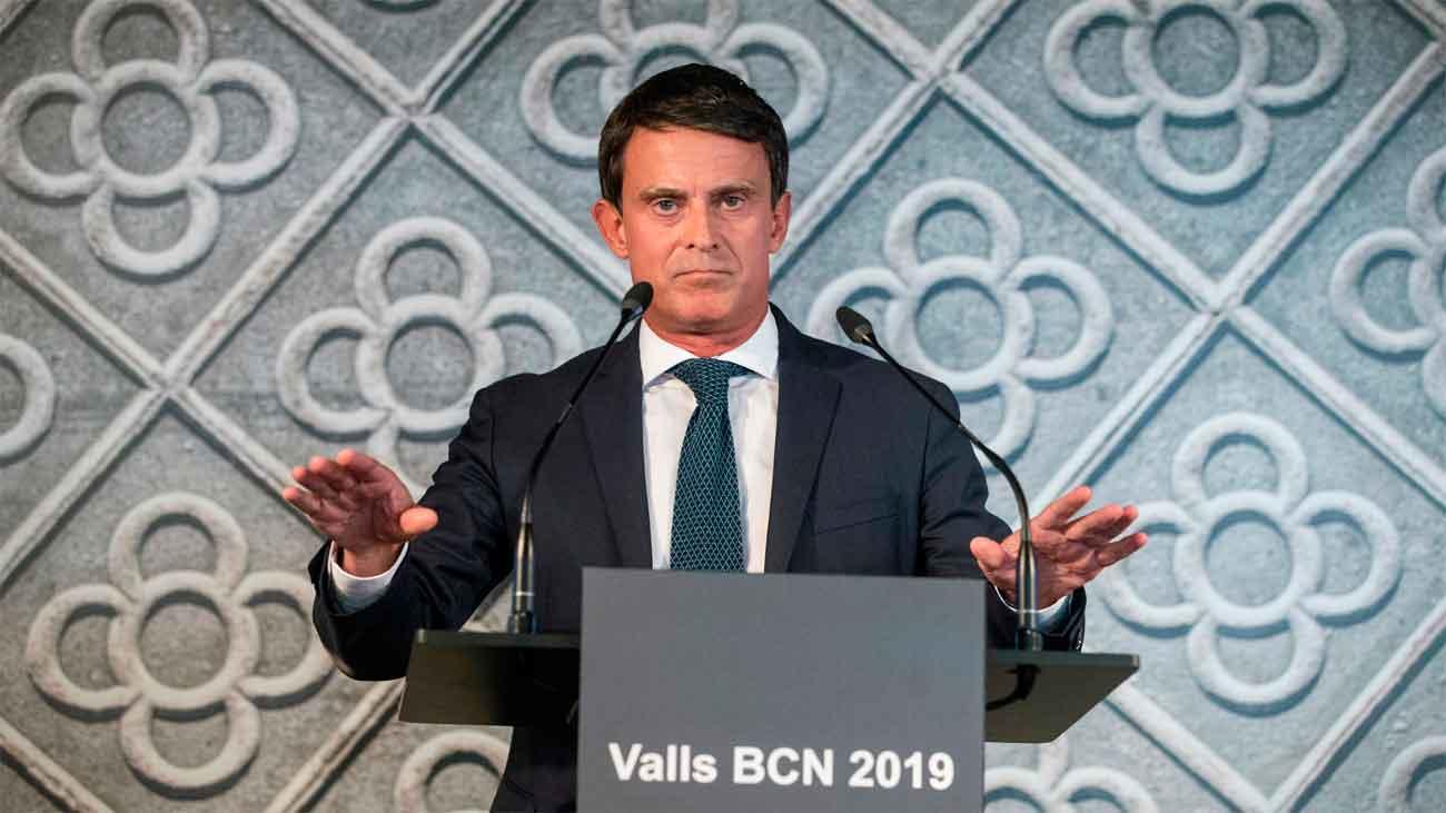 """Manuel Valls: """"Quiero ser el próximo alcalde de Barcelona"""""""