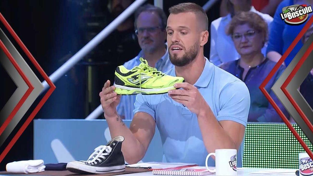 Una buena zapatilla de deporte es necesaria para hacer ejercicio