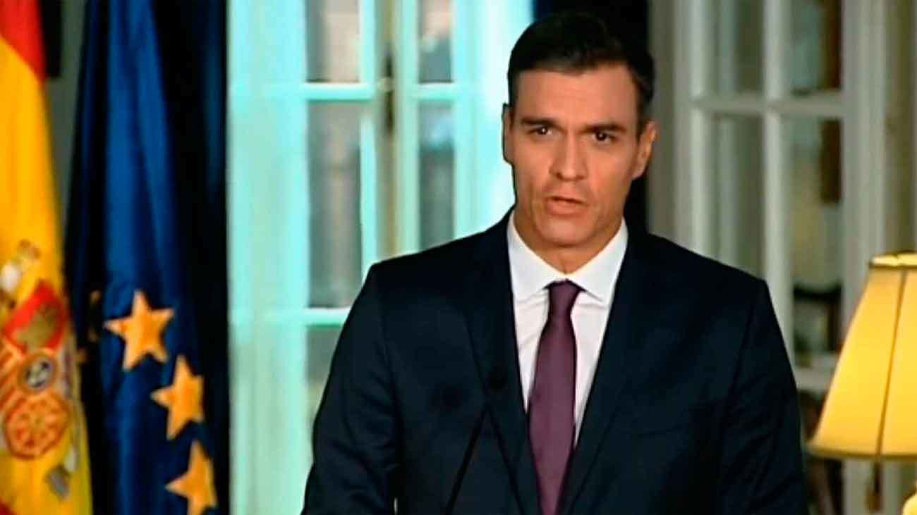 """Sánchez: """"Este Gobierno no acepta chantajes"""""""