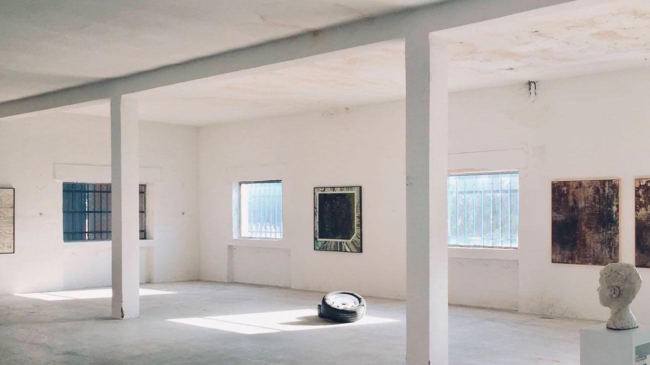 Zapador, un cuartel militar convertido en estudio de arte