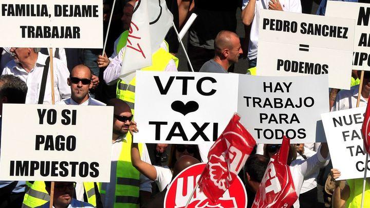 Los VTC desconvocan la manifestación en Madrid prevista para hoy