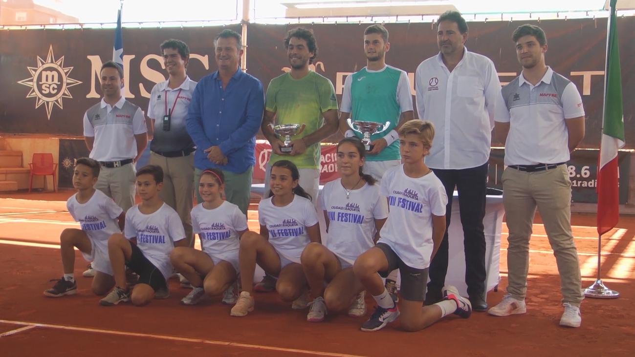 Las promesas del tenis mundial, en Madrid