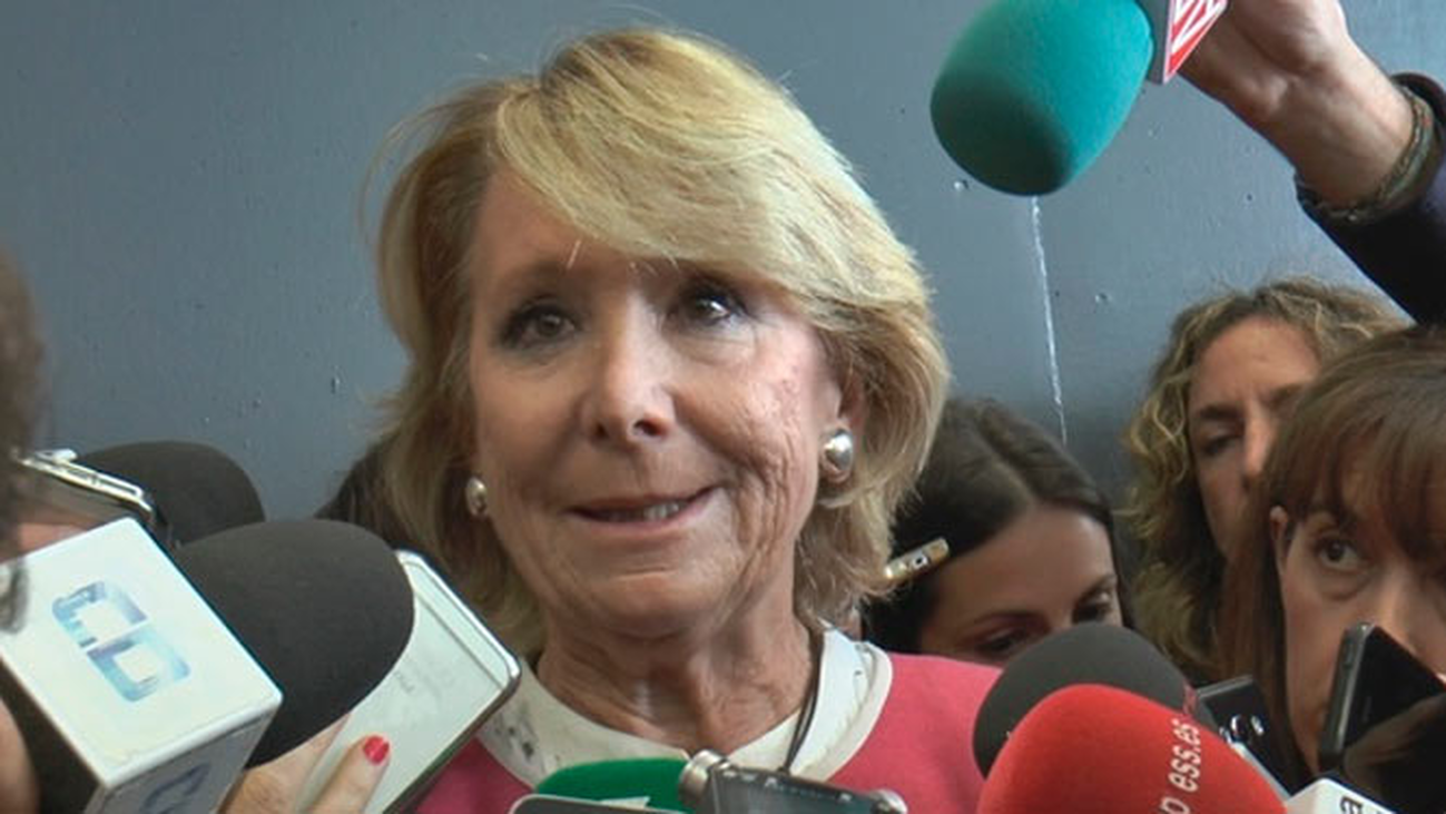 """Esperanza Aguirre sobre Villarejo: """"Supongo que me tendrá grabada"""""""