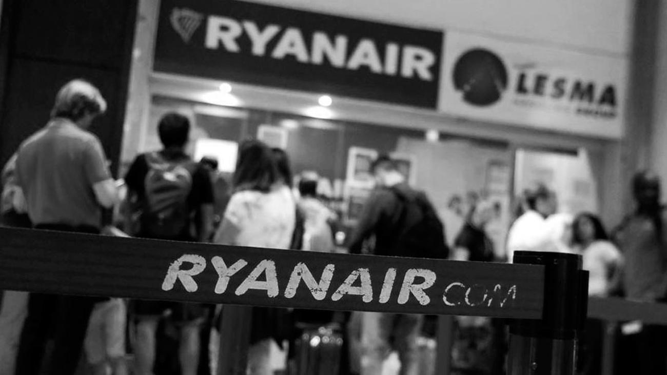 Ryanair anula 13 vuelos entre Italia y España