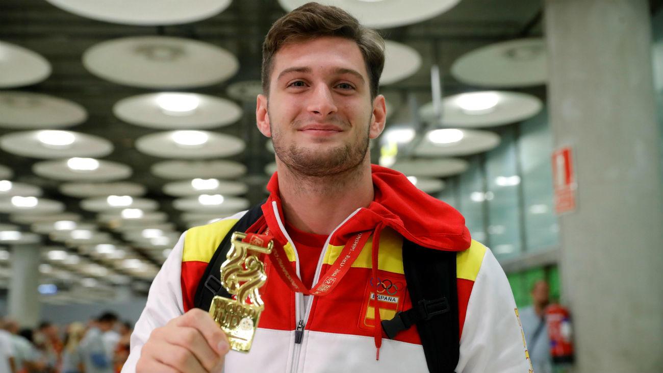 Niko Shera, el campeón judoca de Brunete