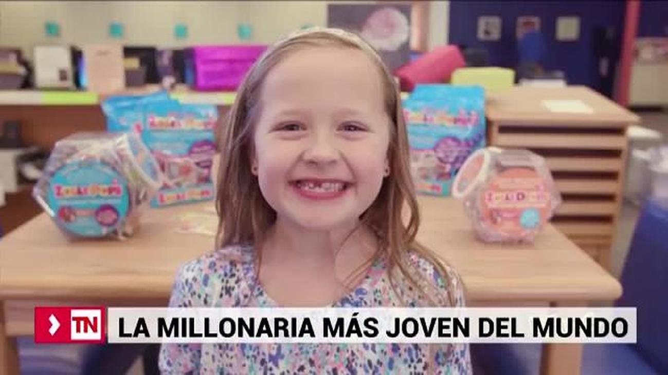 Aline, la millonaria más joven del mundo