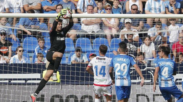 1-0. El Rayo Majadahonda hinca la rodilla en Málaga