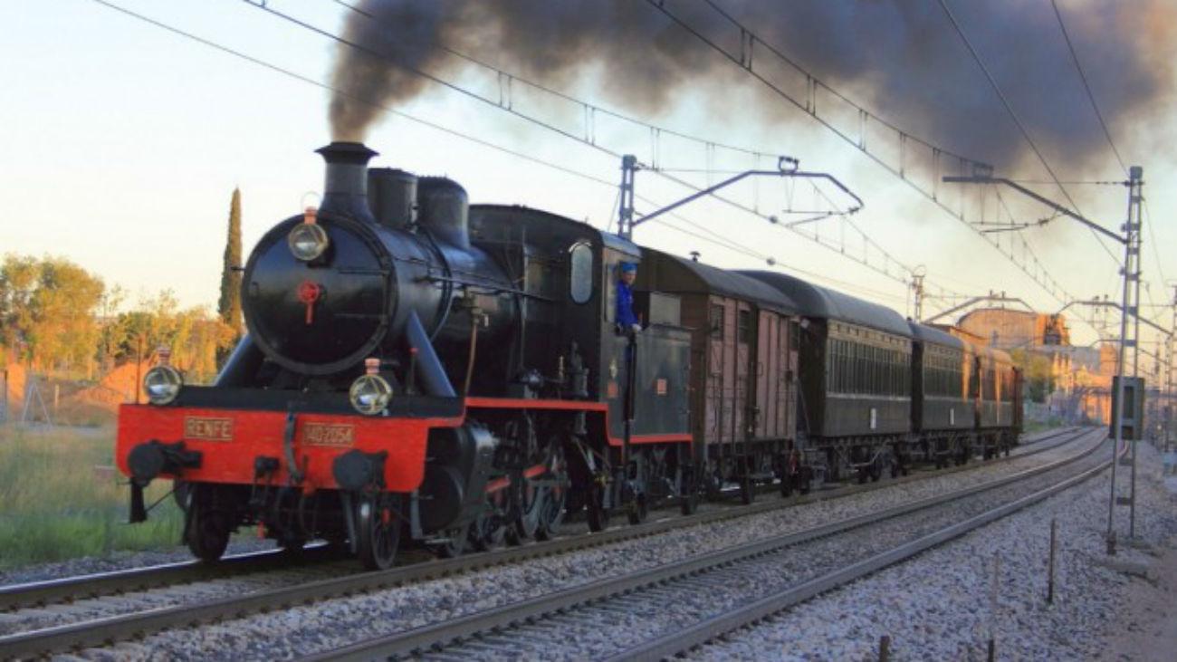 El Tren de la Fresa Madrid-Aranjuez