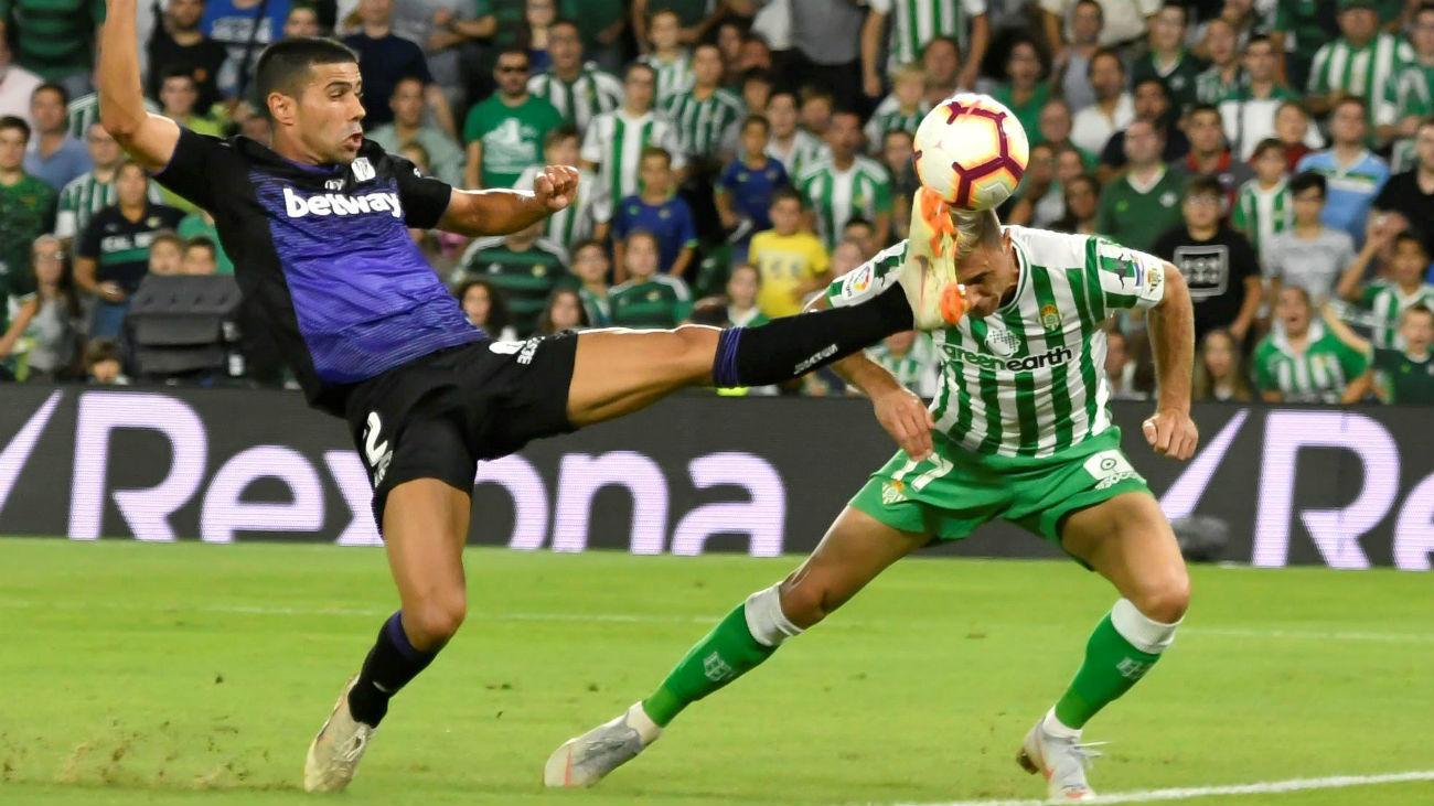 El Leganés pierde ante el Betis (1-0) y el Madrid derrota al Tenerife (88-73)