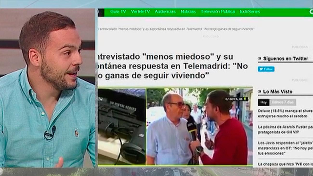 'Madrid Directo' se hace viral gracias a la curiosa respuesta de un ciudadano