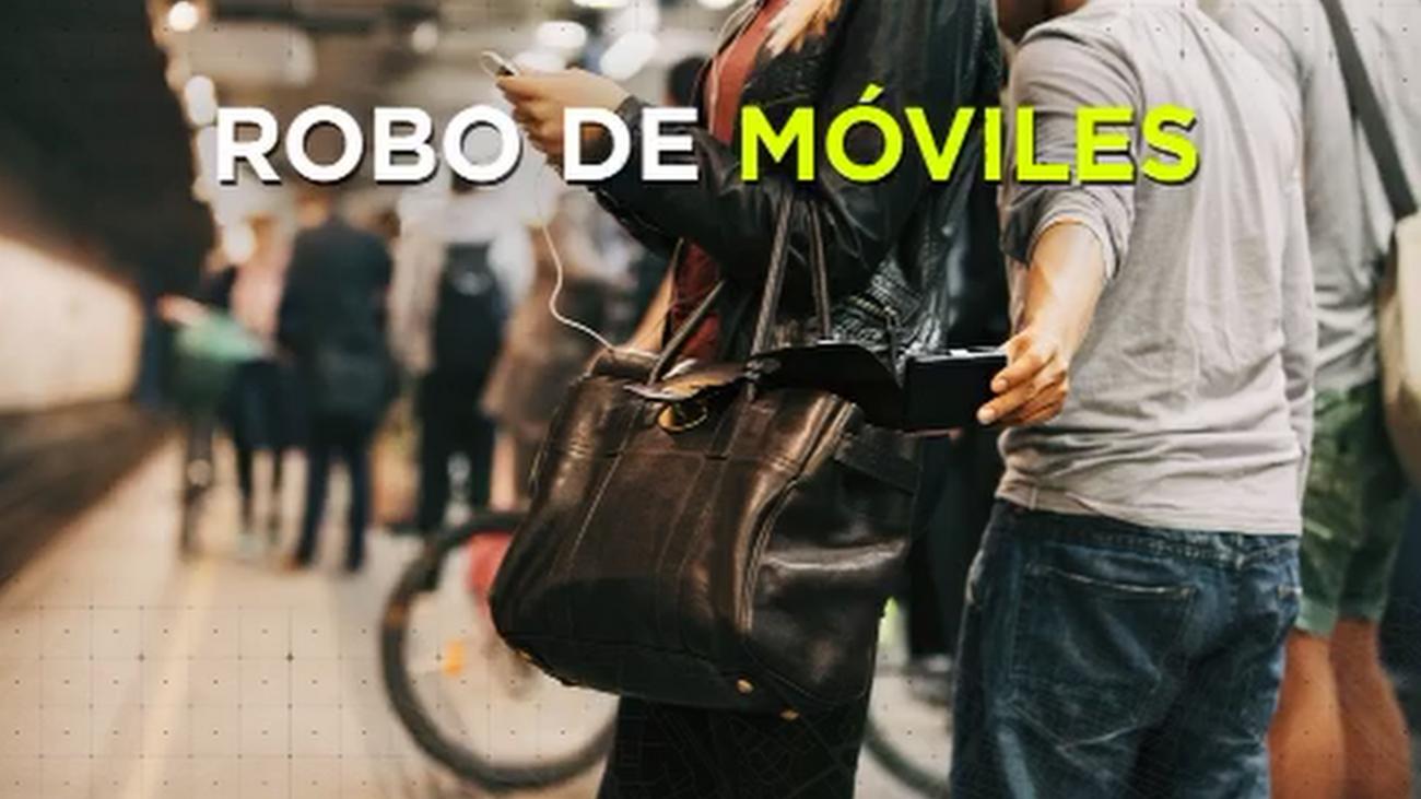 Oleada de robos de móviles en Madrid