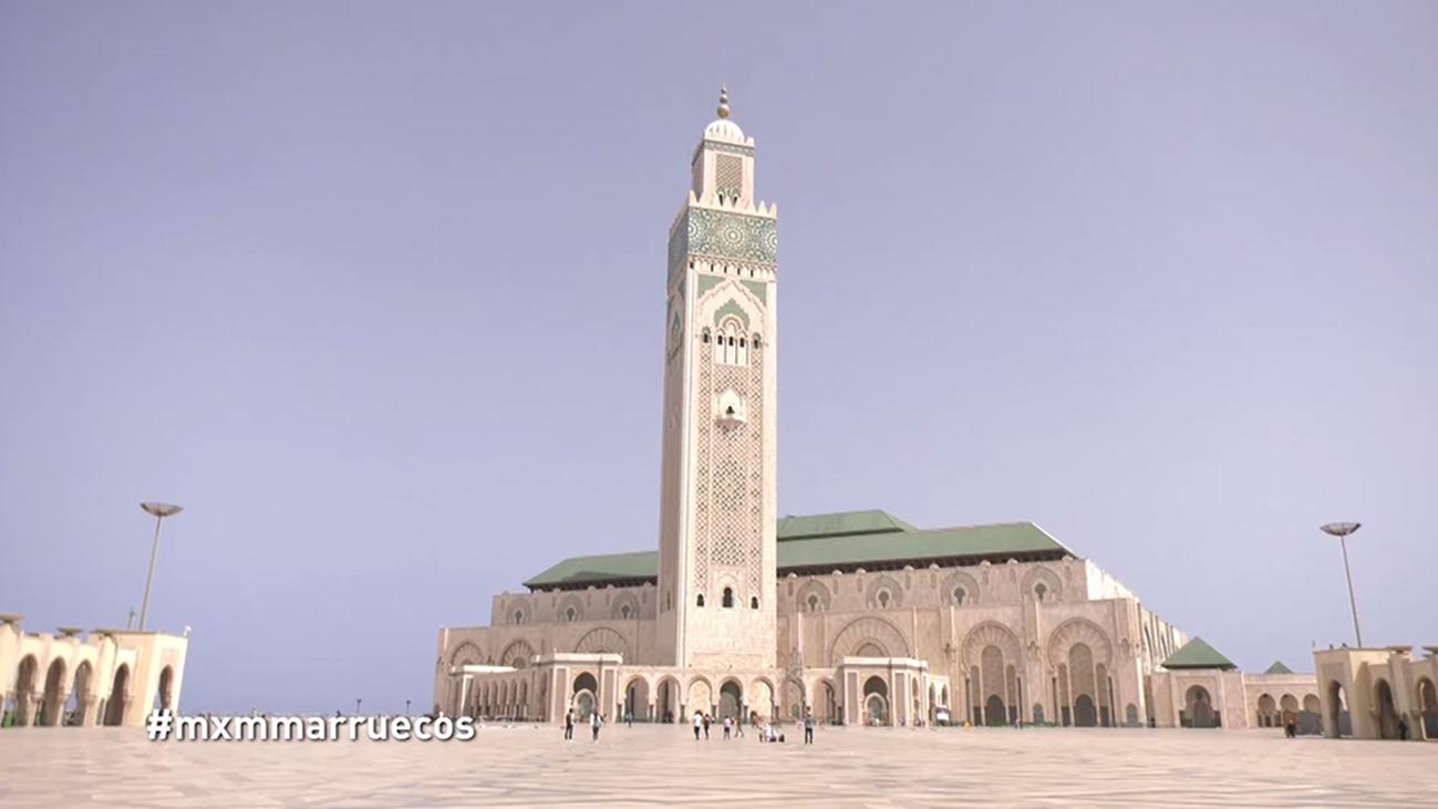 La mezquita de Hassan II, el monumento más visitado de Casablanca