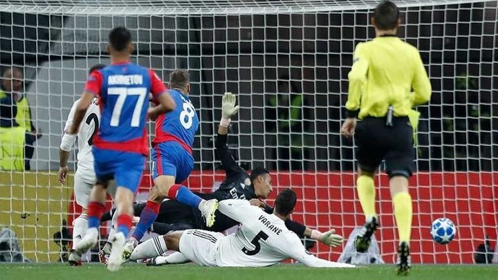 1- 0. Un Madrid sin gol se va de vacío de Moscú