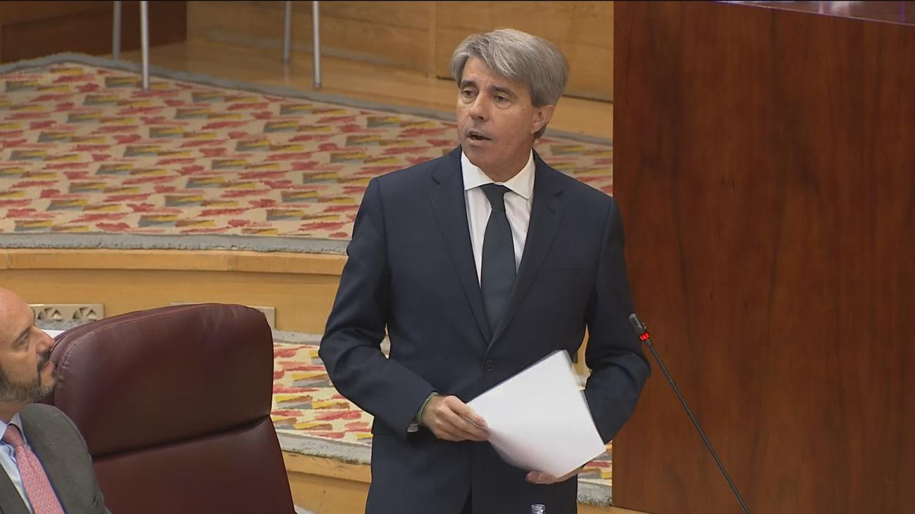 Sesión de control al Gobierno en la Asamblea de Madrid