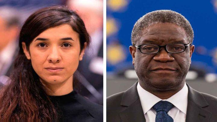 El Nobel de la Paz reconoce la lucha contra la violencia sexual de Mukwege y Murad