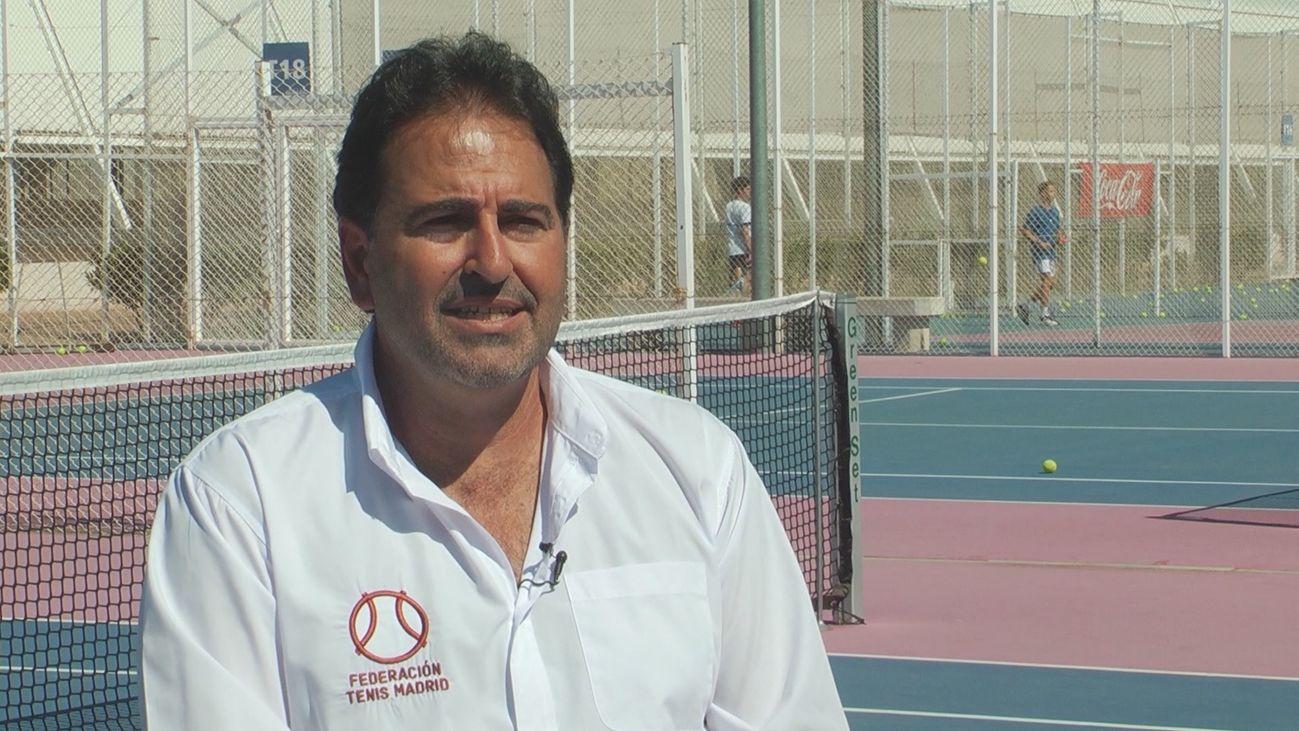 Juan Luis Rascón, presidente de la Federación de Tenis de Madrid