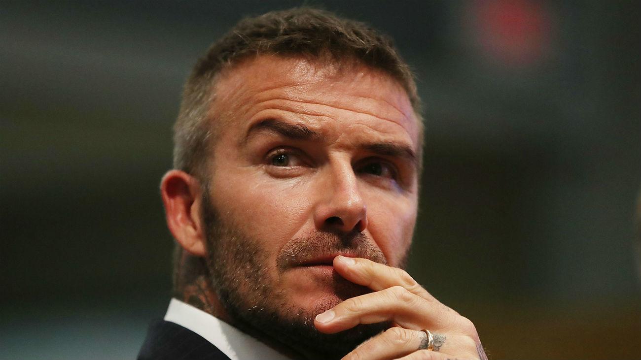 David Beckham ya no es lo que era