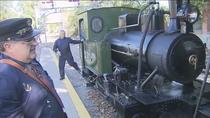 Regresa el tren de vapor de Arganda