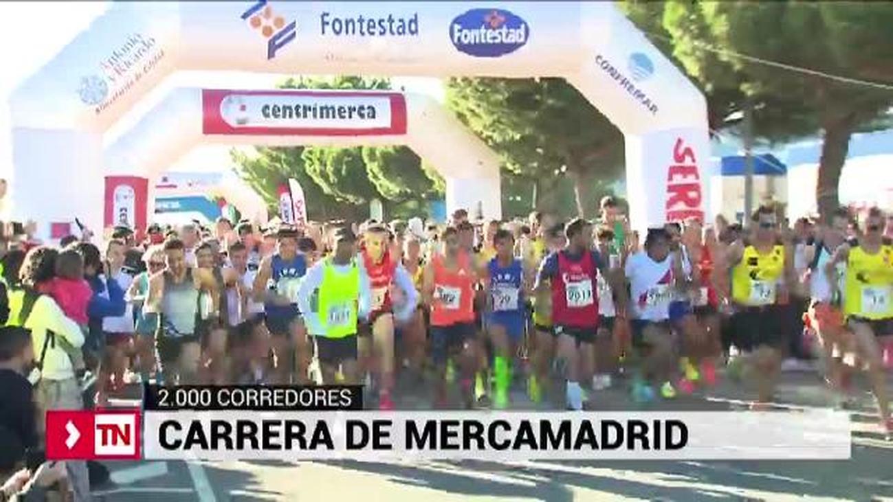 7000 personas participan en la carrera 10K de Mercamadrid