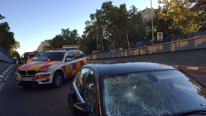 Herido muy grave un joven de 24 años tras ser atropellado en Madrid