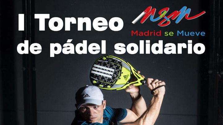Primer Torneo Solidario de Pádel Madrid