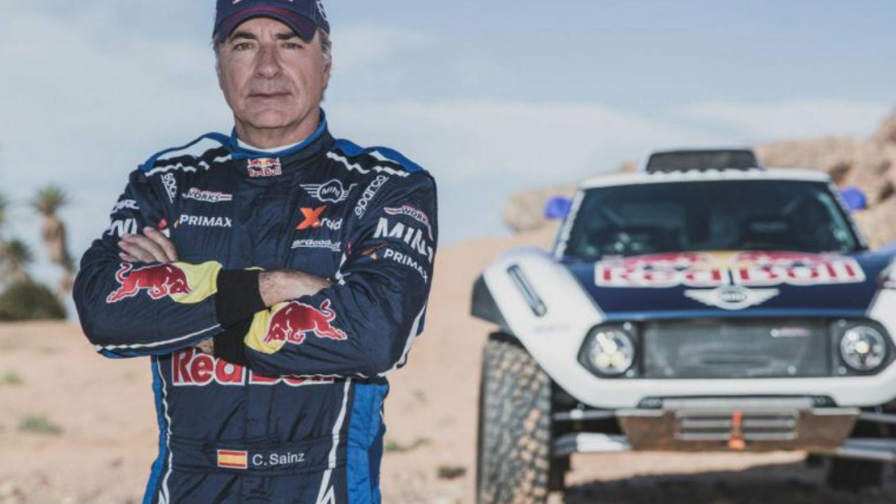 Carlos Sainz defenderá su título en el próximo Rally Dakar