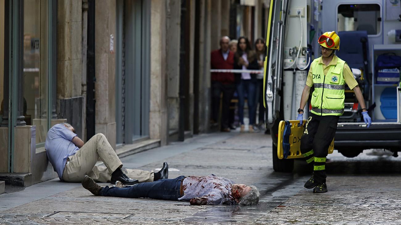 Atentado yihadista: un furgón atropella a decenas de personas en Bilbao