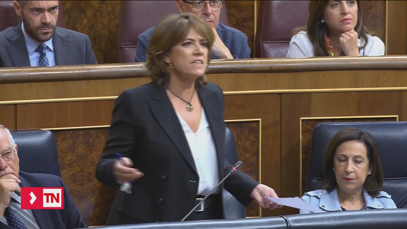 Delgado acusa al PP de sumarse al chantaje de Villarejo