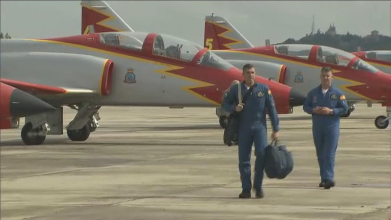 La Patrulla Águila llega a Madrid para participar en la Fiesta Nacional