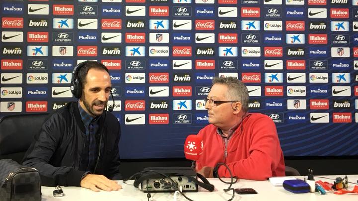 """Juanfran:  """"Soy feliz aquí, me queda cuerda para rato"""""""