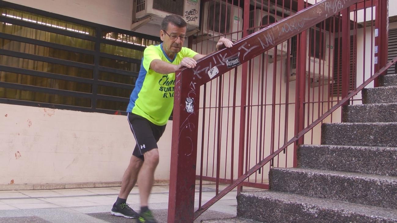 Luis Ibarra, su vida cambió cuando le operaron del corazón