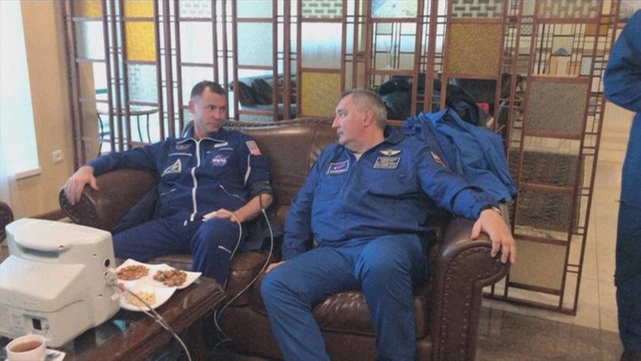 Dos tripulantes de una Soyuz, ilesos tras un aterrizaje de emergencia