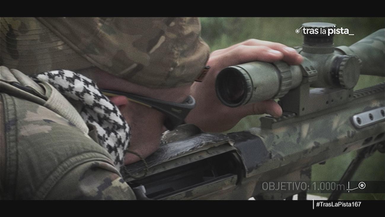 El trabajo de los tiradores de precisión del Ejército de Tierra