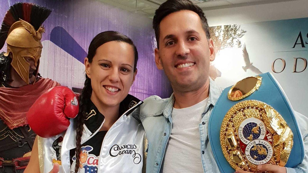 Joana Pastrana con Nacho Serrano