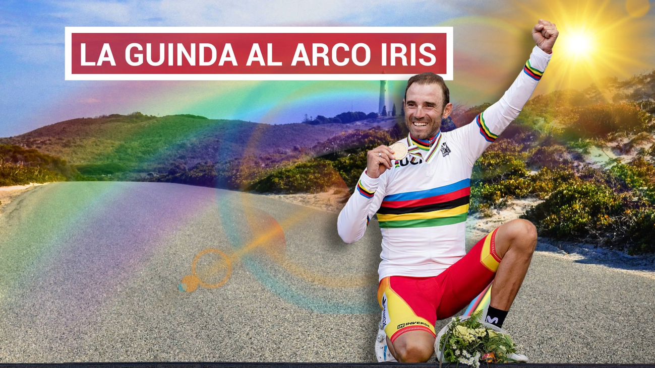 Valverde ya luce el arcoiris