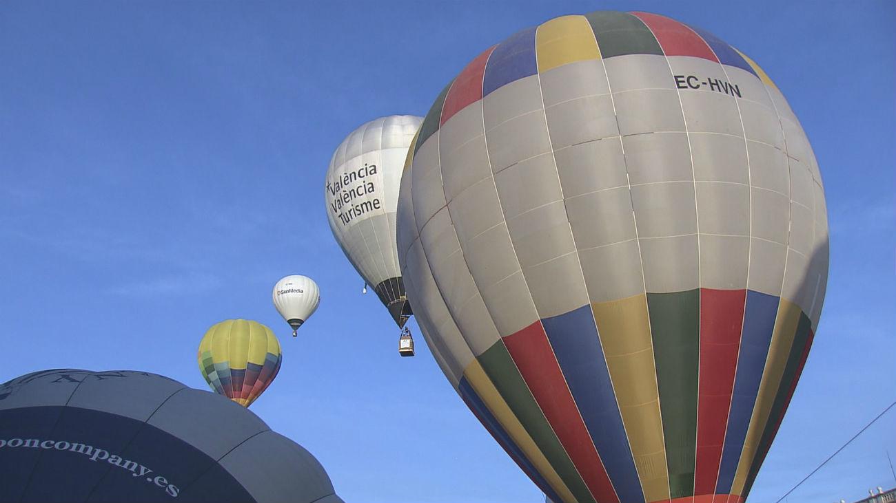 Surcamos el cielo de Aranjuez en globo