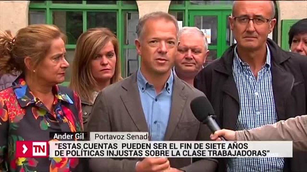 """Ander Gil (PSOE): """"los Presupuestos serán el principio del fin de las políticas injustas"""""""