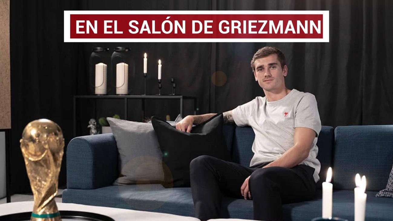 Griezmann, aspirante al Balón de Oro