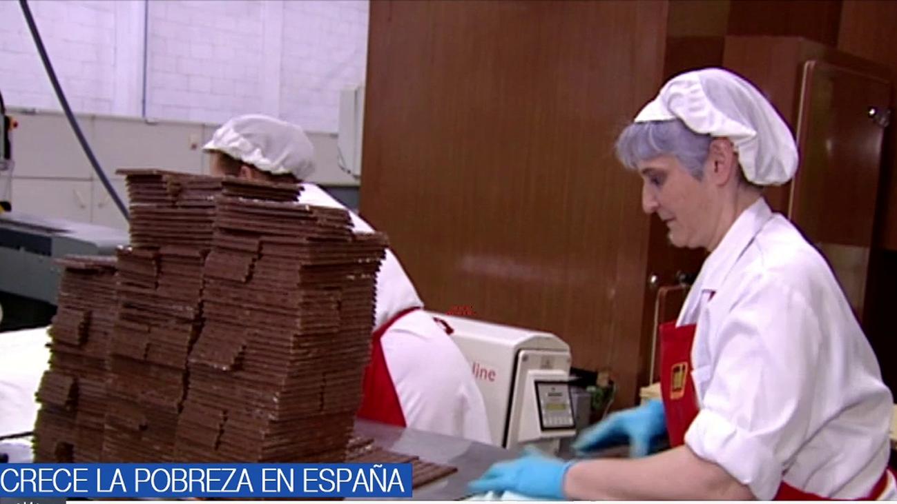 El 26,6 % de la población residente en España está en riesgo de pobreza