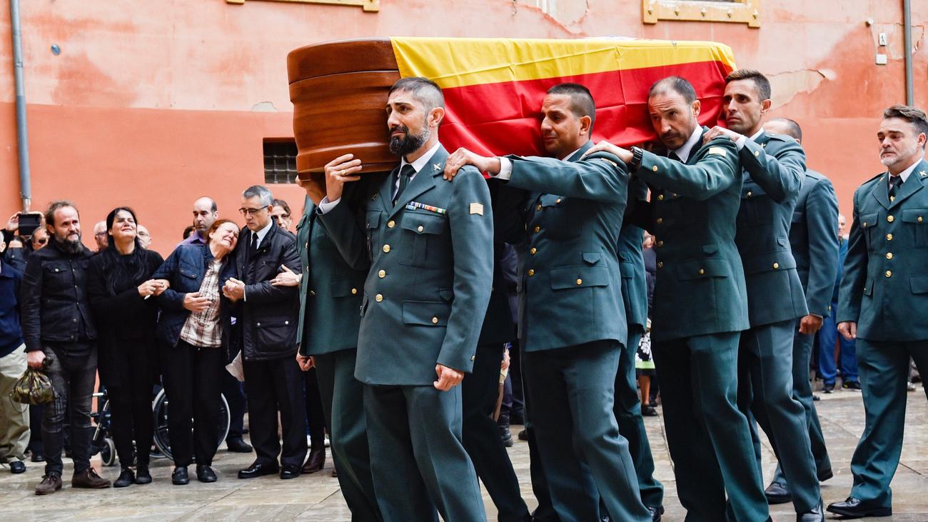 Condecorado con la Cruz de la Orden del Mérito el guardia civil asesinado en Granada