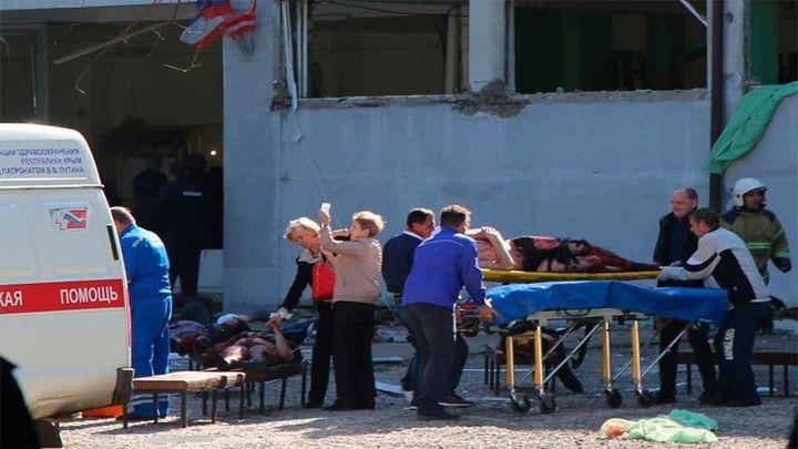 Al menos 18 muertos y 40 heridos por el ataque de un estudiante contra un instituto de Crimea