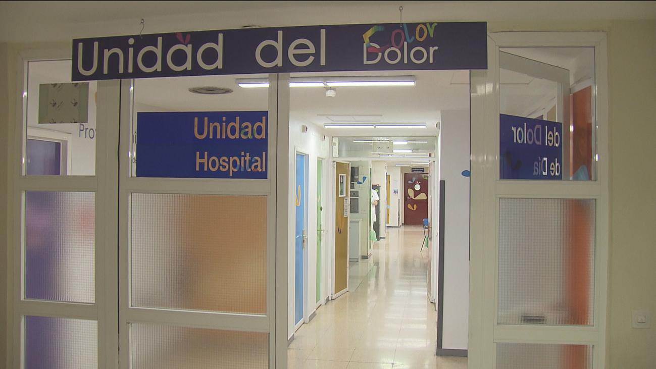 Entramos en la unidad del dolor infantil del hospital de La Paz