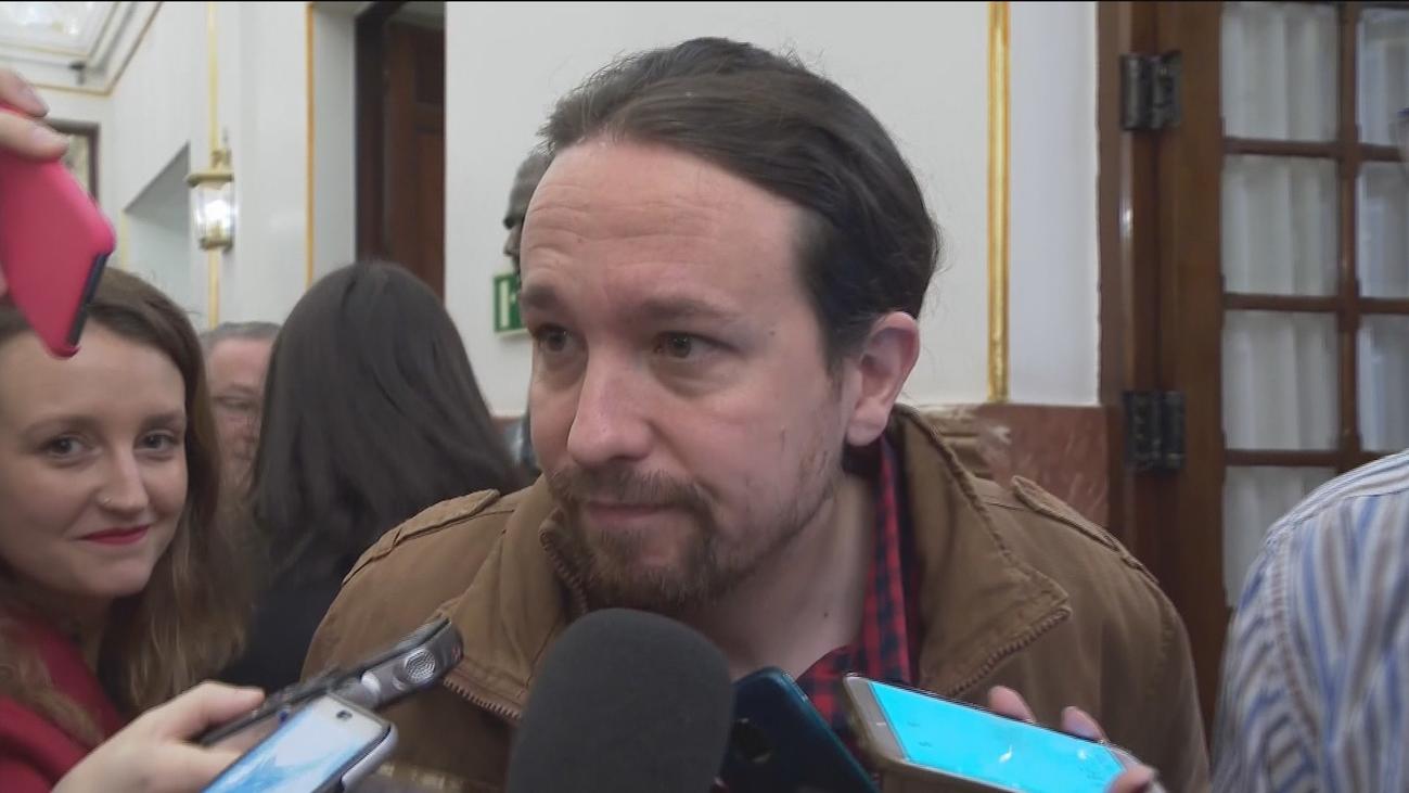 """Iglesias niega que vaya como """"delegado del Gobierno"""" asu reunión con Junqueras"""